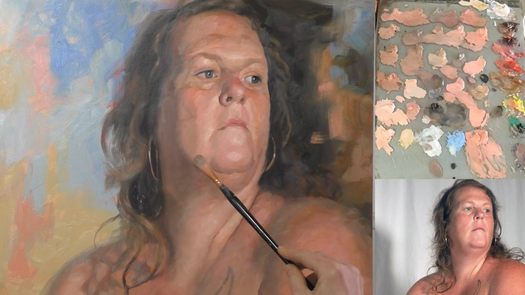 oil painting lessons the second pass