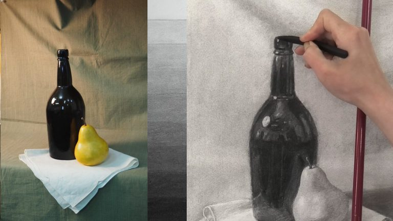 New Release: Charcoal Shading – Understanding Values and Form